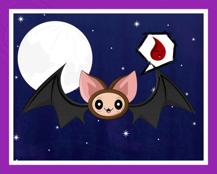 Mascot Contest--Bat Bat by clrkrex
