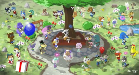 Welcome To Animal Crossing by Adam-Leonhardt