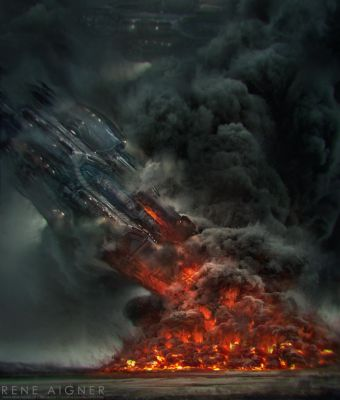 Fate of a Dreadnought by ReneAigner