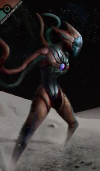 Deoxys Attack form by AbelVera