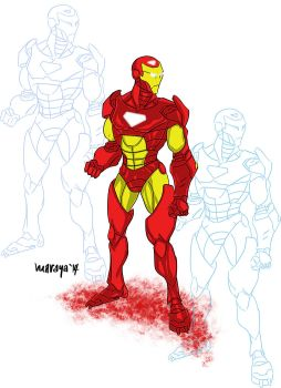 Iron Man Sketch by Marc Maraya by Oj4breakfast