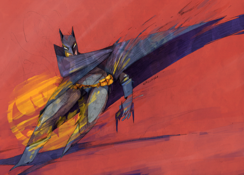Batman by faQy