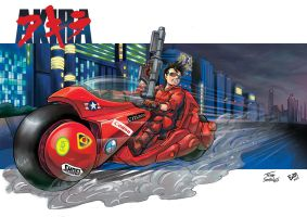 Kaneda Akira 30th years tribute by thiagospyked