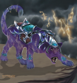 LEGEND ONLINE - THUNDER PANTHER by KITRAM