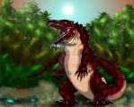 HWE Kasai Rex Color by RenDragonClaw