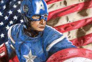 Captain America by Going-Downhill-Fast