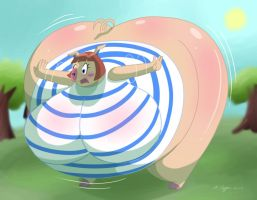 Peggy and the P-Balloon part 9 by RickyDemont