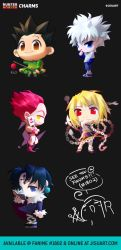 Hunter x Hunter Chibi Charms! by JisuArt