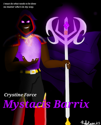 Mystacis Barrix by robotman25
