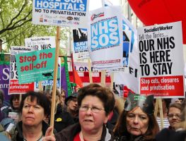 May 18th 2013 - Save the NHS: 29 by LouHartphotography
