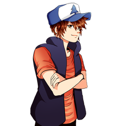 Anime Dipper by FlyingPings