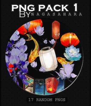 PNG Pack #1 by NagaSahara