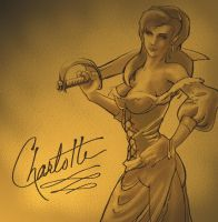 Captain 'Charlie' Charlotte by toddworld