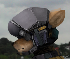 Doggo Soldier by Panzery25