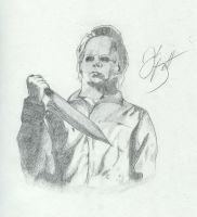 Michael 'the shape' Myers by thecletus