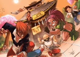 Baby KoF Rumble Final Touch by RaphooN
