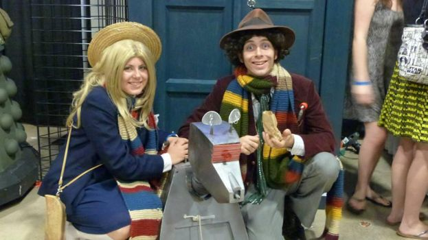 4th Doctor and Romana by The-16th-Doctor