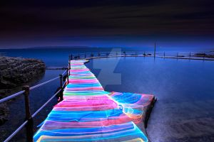 Rainbow Road by OrbMeUp