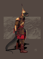 Lizardfolk Cleric by Ryan-Rhodes