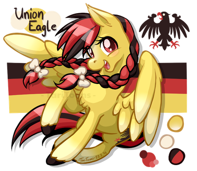 Union Eagle by TariToons