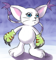 Gatomon by Evinawer