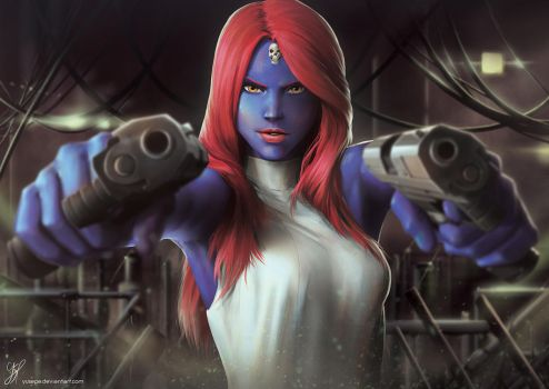 Mystique by YuSePe