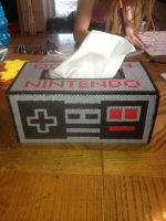 NES Controller out of Perler Beads by HarleyMama23
