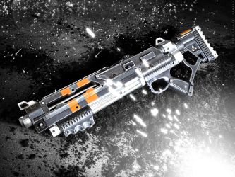 Halo 4 Inspired Shotgun by meandmunch