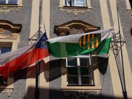 Flags in Prague 2 by IsK4nD3R