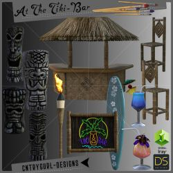 At The Tiki-Bar by CntryGurl-Designs
