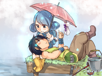 It's not raining anymore by blanania