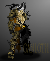 AQW: Ganloth, The Dragon Enslaver by Bill-James