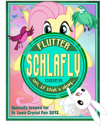 Flutter Schlafly Label by PixelKitties