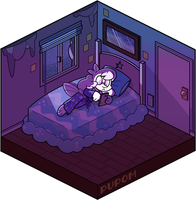 Bedroom Browsing by pupom