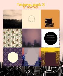 textures pack 3 by newmeen