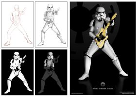 Stormtrooper process by Anything-But-Bland