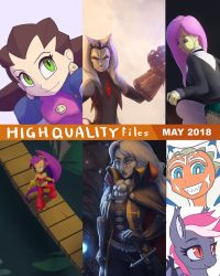 Patreon may 2018 content batch preview by Montano-Fausto