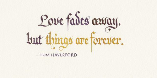 Tom Haverford - Love and Things by MShades
