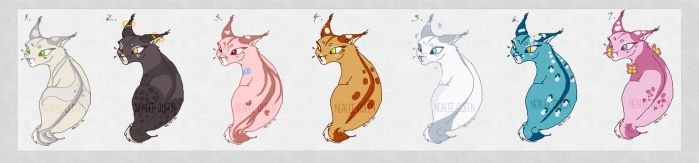 caracal adopts [OPEN] by nealee-q