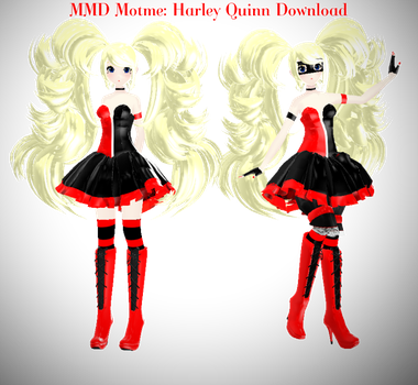 MMD Motme: Victorian style Harley Quinn Download by dianita98