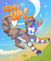 Level Up! by WhiteLiolynx