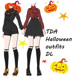 [MMD] [DL] #2 Halloween outfits DL by Natsumy-Paradise