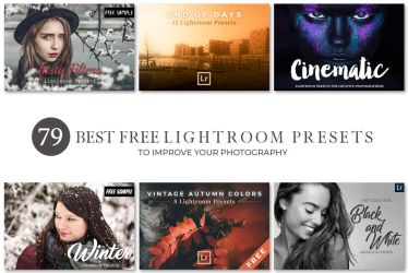 79 Best Free Lightroom Presets Collection by symufa