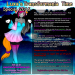 Luxa's TT Special 2016 - ENTRIES CLOSED by Luxianne