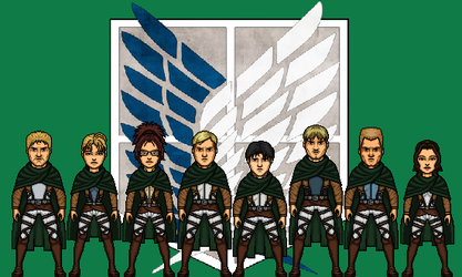 Survey Corps by Wallz2296