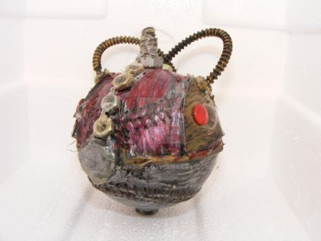 pokeball steampunk prototype by midknife