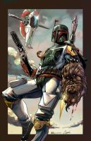 Boba Fett killer mode by IvannaMatilla