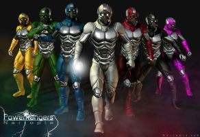 'PowerRangers' Series part 2 by blackzig