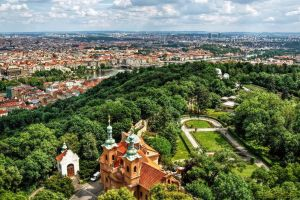 St Lawrence Church on Petrin by pingallery