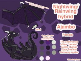 Ajambo Ref Sheet by WhimsicalGhosts